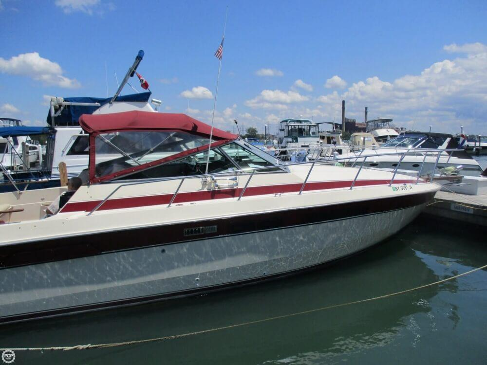 1986 used chris craft 33 express cruiser boat for sale for Chris craft express cruiser for sale