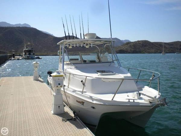 Used Pro Sport Prokat 2660 WA Power Catamaran Boat For Sale