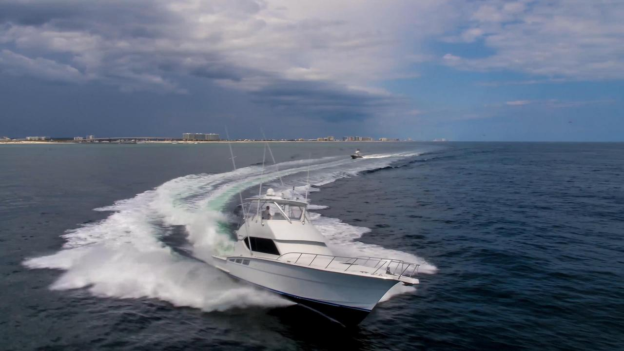 2006 used hatteras 50 convertible fishing boat for sale for Hatteras fishing boat