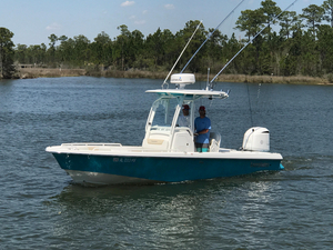 Used Everglades 243 Center Console Saltwater Fishing Boat For Sale