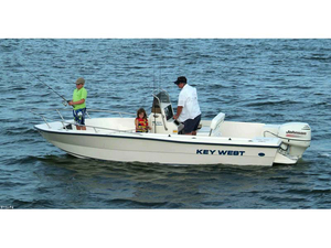 Used Key West 1900 CC Center Console Fishing Boat For Sale