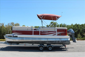 Used Sweetwater Pontoon Boat For Sale
