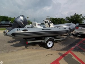 Used Zodiac 17 PRO 550 RIB Center Console Fishing Boat For Sale