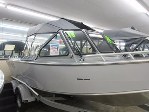 New North River 18'6 Seahawk Aluminum Fishing Boat For Sale