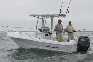 Used Triumph 215 CC Saltwater Fishing Boat For Sale