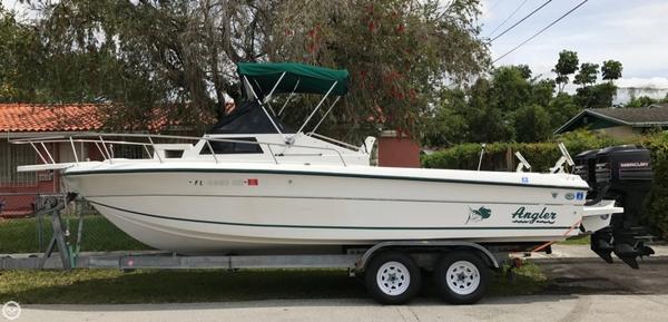Used Angler 220 WA Walkaround Fishing Boat For Sale