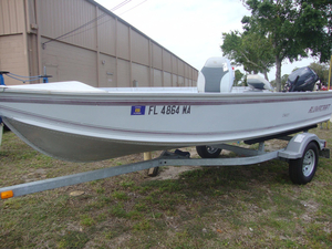 Used Alumacraft V-16 Jon Boat For Sale