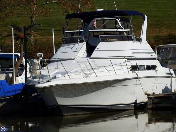 Used Carver 380 Santego Sports Fishing Boat For Sale