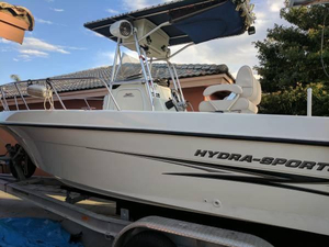 Used Hydra-Sports 230 CC Saltwater Fishing Boat For Sale