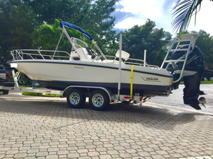 Used Boston Whaler 230 Dauntless Saltwater Fishing Boat For Sale