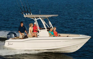 Used Scout Boats 210 XSF Saltwater Fishing Boat For Sale