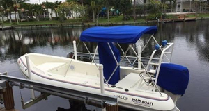 Used Rigid Sport Tender Boat For Sale