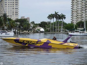 Used Fountain 42 Lightning High Performance Boat For Sale