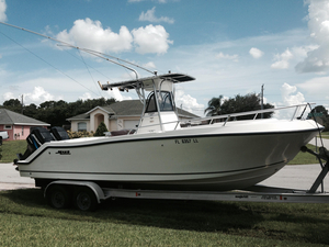 Used Mako 252 Center Console Saltwater Fishing Boat For Sale