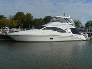 Used Sea Ray 58 Sedan Bridge Express Cruiser Boat For Sale