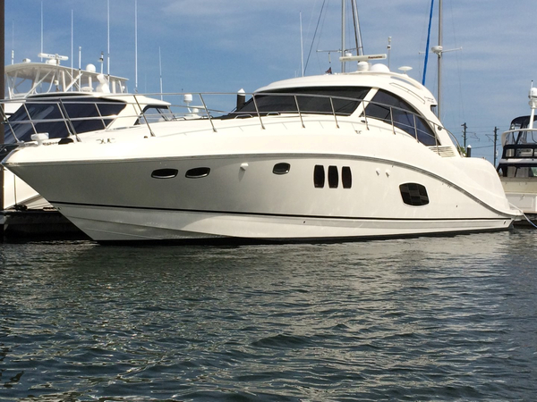 Used Sea Ray 580 Sundancer Express Cruiser Boat For Sale