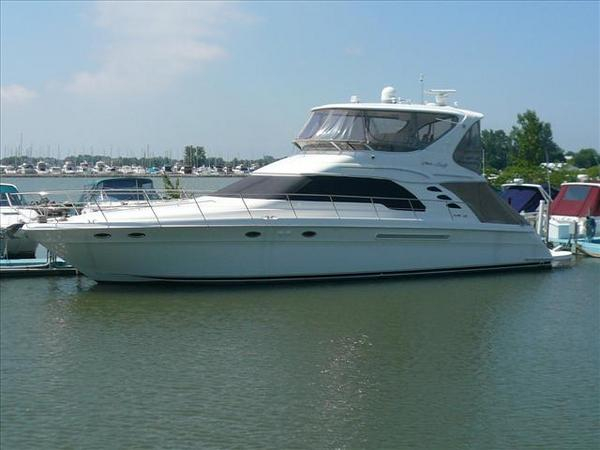 Used Sea Ray Sedan Bridge **fresh Water** Flybridge Boat For Sale