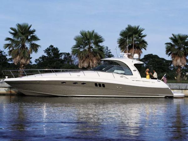 Used Sea Ray 520 Sundancer ***rare Man Diesels*** Express Cruiser Boat For Sale