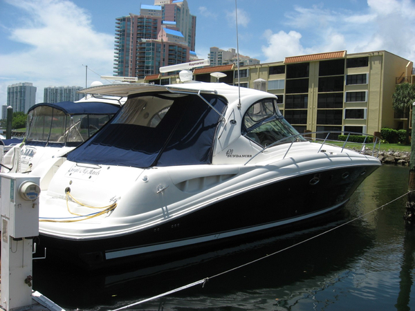 Used Sea Ray 420 Sundaner Express Cruiser Boat For Sale