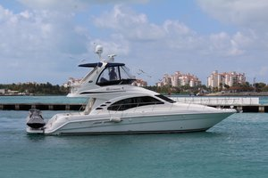Used Sea Ray 420 Sedan Bridge Flybridge Boat For Sale