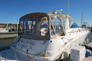 Used Sea Ray 410 Sundancer Express Cruiser Boat For Sale