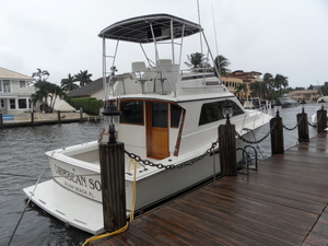 Used Pacemaker Sportfisherman Convertible Fishing Boat For Sale