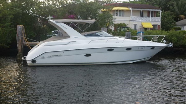 Used Regal Commodore 322 Express Cruiser Boat For Sale