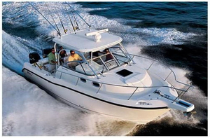 Used Boston Whaler Conquest 305 Center Console Fishing Boat For Sale