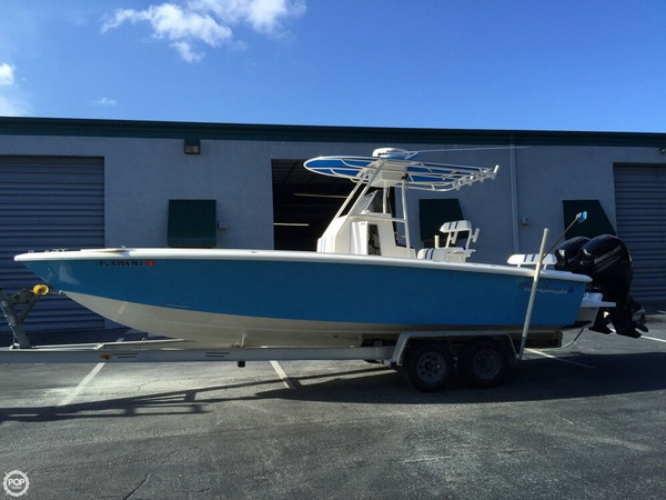Used Island Runner 26 Center Console Fishing Boat For Sale