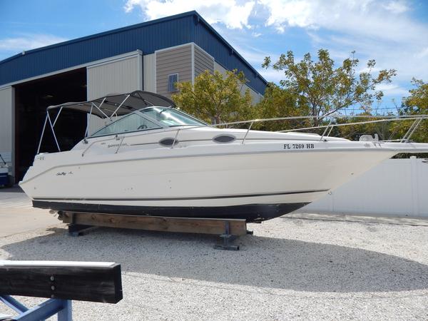 Used Searay 27 Sundancer Express Cruiser Boat For Sale