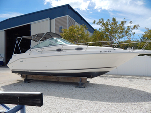 Used Searay 27 Sundancer Express Cruiser Boat For Sale