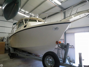 Used Parker Marine 2520 Pilothouse Boat For Sale