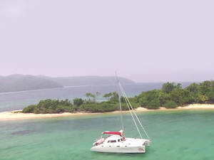 Used Composite Catamarans Andaman Cabriolet Catamaran Boat For Sale