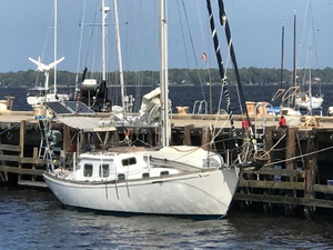 Used Seafarer Yachts 36c Sloop Sailboat For Sale