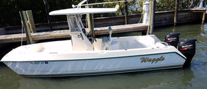 Used Sea Cat 23 Saltwater Fishing Boat For Sale