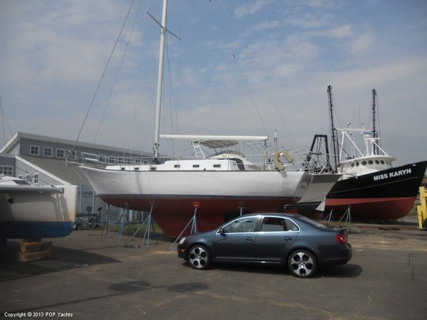 Used Bruce Roberts 40 Sloop Sailboat For Sale