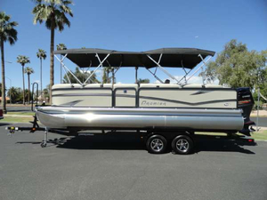 New Premier Boats SunSation 240 Pontoon Boat For Sale