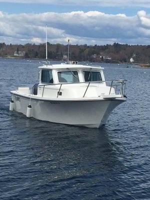 Used Parker 2120 SC Pilothouse Boat For Sale