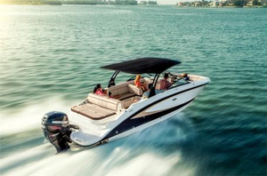 New Sea Ray 270 Sundeck Outboard Bowrider Boat For Sale