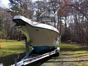 Used Stratos 2700 Center Console Fishing Boat For Sale