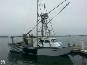 Used Cloudburst 30 Crabber Boat For Sale