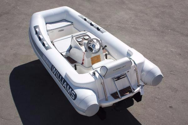 Used Williams Jet Tenders Turbojet 445 Tender Boat For Sale