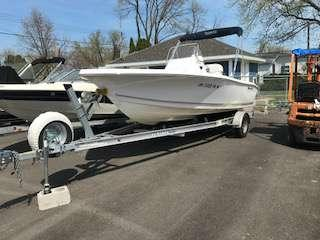 Used Tidewater Boats 196 CC Adventure Center Console Fishing Boat For Sale