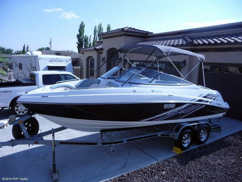 2008 used yamaha 230 sx high output jet boat for sale