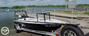 Used Skimmer Skiff 14'6 Flats Fishing Boat For Sale