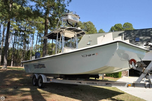 Used Jones Brothers 25 Bateau Center Console Fishing Boat For Sale