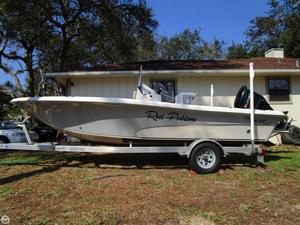 Used Carolina Skiff 21 Sea Skiff Center Console Fishing Boat For Sale