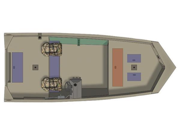 New Crestliner 1860 Retriever SC Jon Boat For Sale