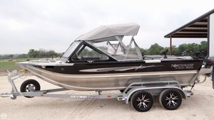 Used Northwest Freedom 196 Aluminum Fishing Boat For Sale
