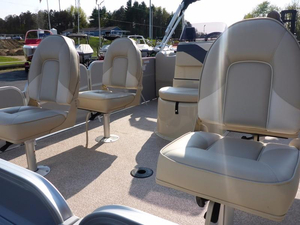 New Misty Harbor Boats Adventure CC 245 Pontoon Boat For Sale